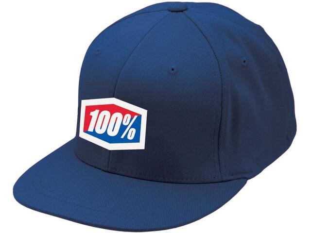 100% Essential J-Fit Hat blue